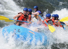 Church rafting outing